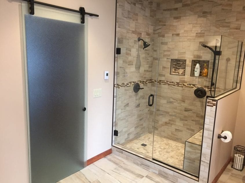 Custom Shower Enclosure Adams Glass